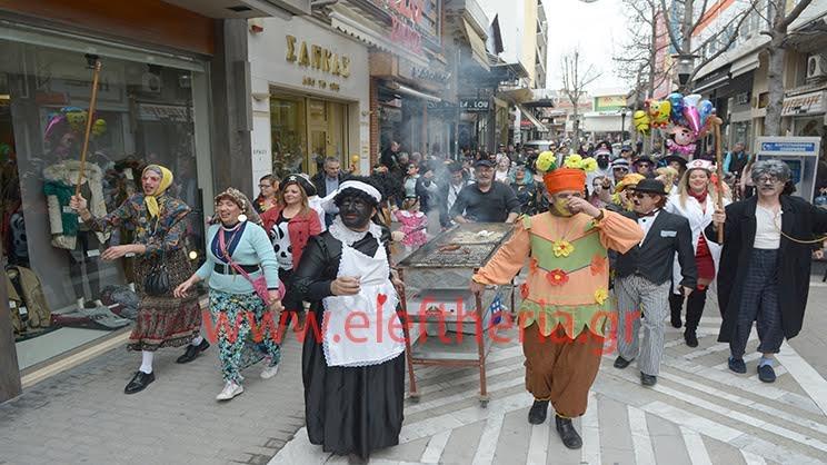 Τα μπουλούκια ξεσήκωσαν το κέντρο της Λάρισας