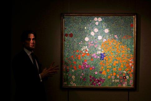 Πίνακας του Κλιμτ πουλήθηκε έναντι 59 εκατομμυρίων δολαρίων