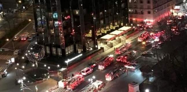 Πυρκαγιά στο ξενοδοχείο και τον ουρανοξύστη του Τραμπ στη Ν. Υόρκη [εικόνες-βίντεο]