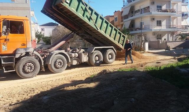 Νέα έργα οδοποιίας στο Δήμο Βόλου