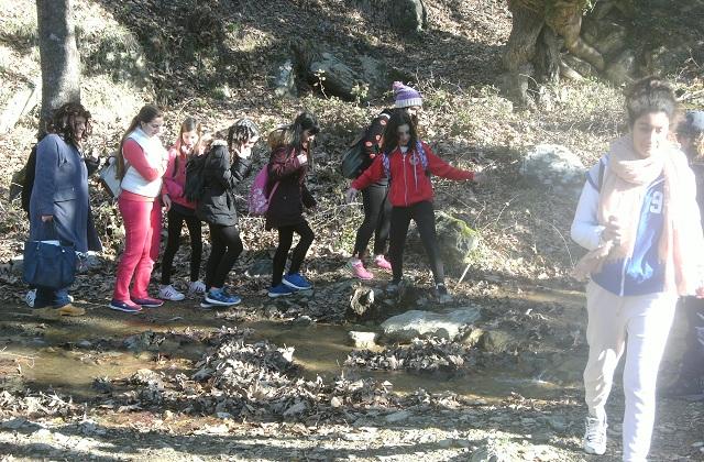 Το Γυμνάσιο Ευξεινούπολης στο Κέντρο Περιβαλλοντικής Εκπαίδευσης Μακρινίτσας