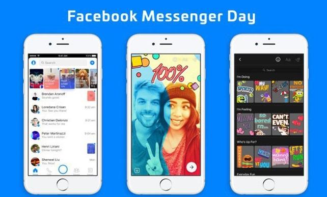 Messenger Day: Το Facebook απέκτησε το δικό του Snapchat