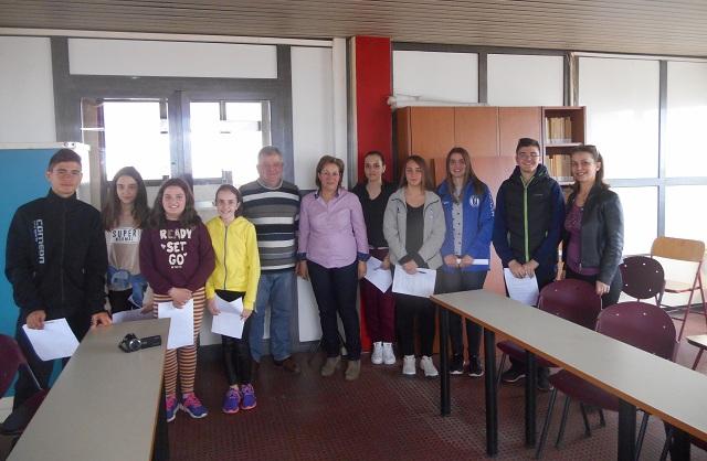 Μαθητές του Γυμνασίου Ευξεινούπολης ...ανέκριναν τον Διευθυντή Β/βάθμιας Εκπαίδευσης