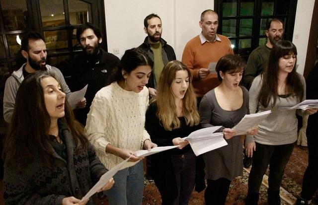 Με τη χορωδία των ανέργων νικήσαμε τη θλίψη μας