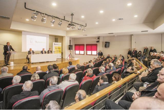 Εκδήλωση για την επέκταση του δικτύου φυσικού αερίου στο Χορτιάτη, παρουσία του Σ.Φάμελλου