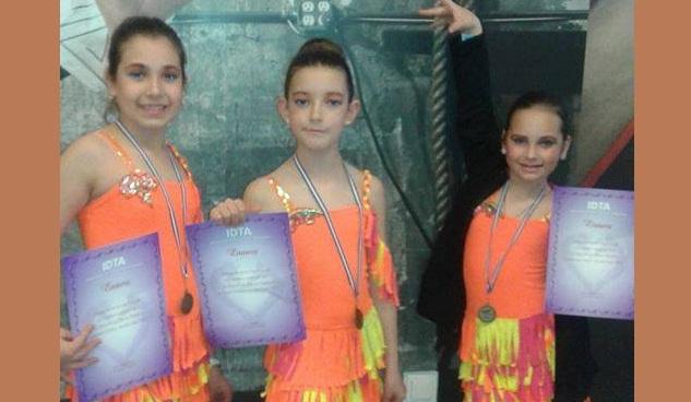 Πανελλήνιες διακρίσεις για χορευτές της Dance Αcademy Βόλου