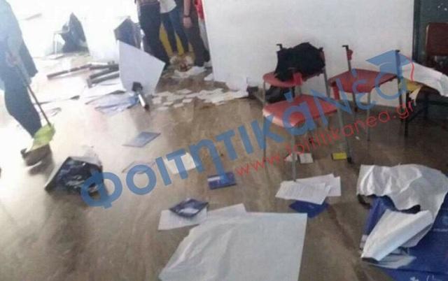 Χτύπησαν φοιτητή στο κεφάλι με σιδερολοστό μέσα στο Πανεπιστήμιο Πατρών
