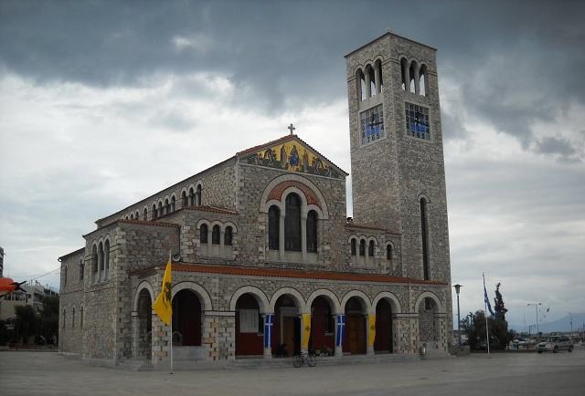 Υποδοχή της Ιερής Εικόνας Παναγίας Γεροντίσσης στον Ναό Αγ. Κωνσταντίνου