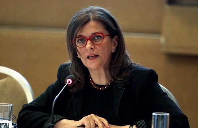 Η αν. Υπουργός Εργασίας Ράνια Αντωνοπούλου στα Τρίκαλα