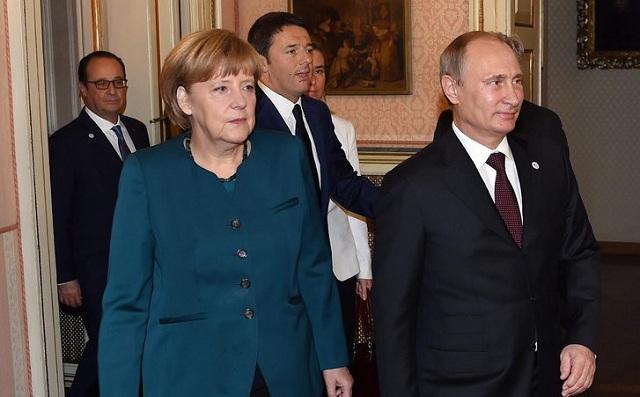 Πρώτη συνάντηση Μέρκελ-Πούτιν εδώ και δύο χρόνια