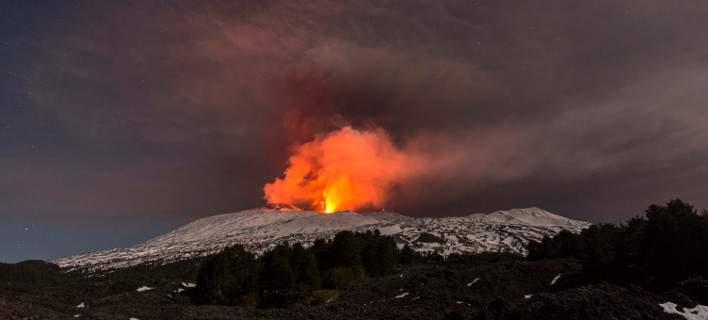 Συνεργείο του BBC τραυματίστηκε από την έκρηξη της Αίτνας