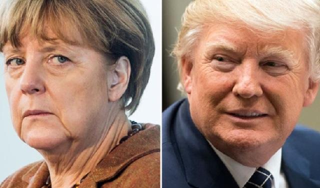 Όλη η Ευρώπη με τα μάτια στραμμένα στο πρώτο τετ α τετ Τραμπ-Μέρκελ