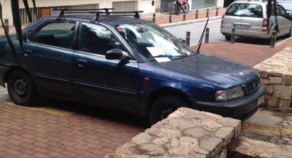 Ένα παρκάρισμα 4 παραβάσεις - Ο πιο ασυνείδητος οδηγός του μήνα