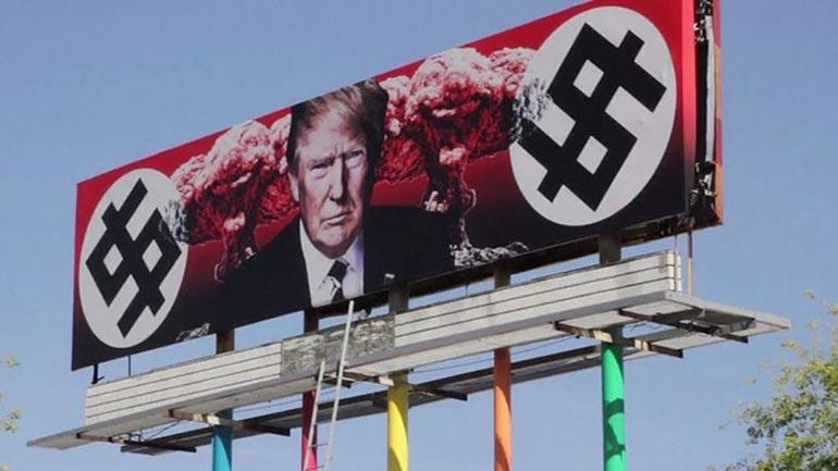 Σάλος από πινακίδα στις ΗΠΑ: Ο «δικτάτορας» Τραμπ