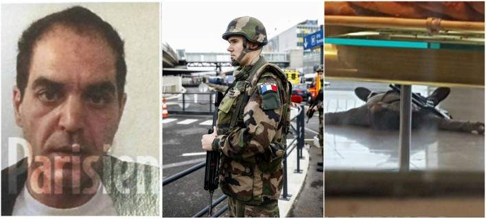 «Είμαι εδώ για να πεθάνω για τον Αλλάχ» φώναξε ο δράστης της επίθεσης στο αεροδρόμιο Ορλί