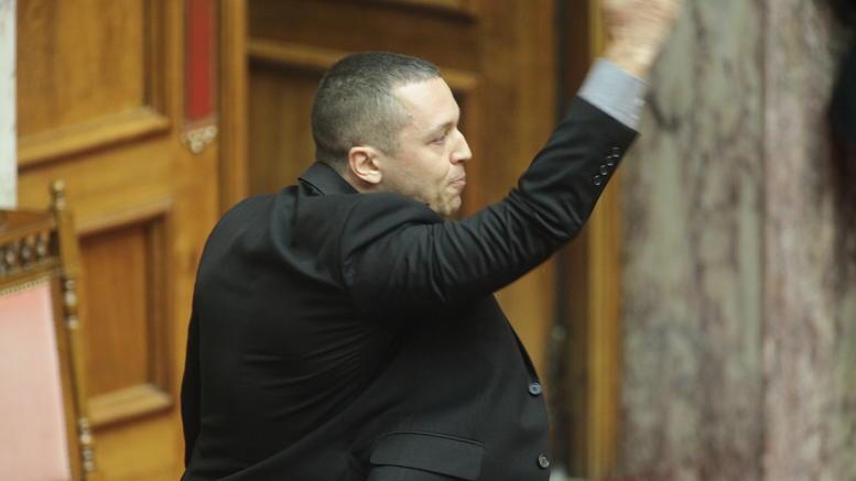 Επίθεση Κασιδιάρη στην Κατερίνα Παπανάτσιου στη Βουλή