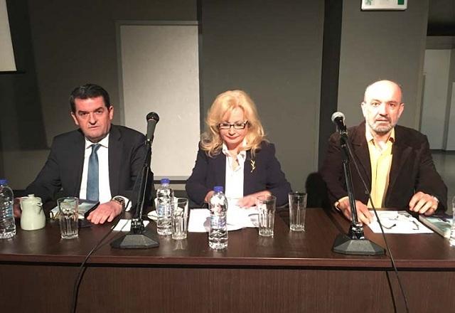 Η Αγγελική Νικολούλη στη Λάρισα: Δεν υπάρχει τέλειο έγκλημα, υπάρχει τέλειος ερευνητής