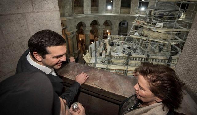 Παραδίδεται το έργο αποκατάστασης του Παναγίου Τάφου