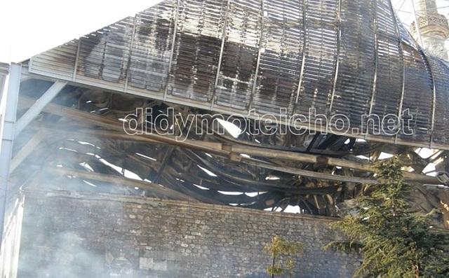 Άγκυρα: Περιμένουμε από την Ελλάδα να μας πει πώς ξέσπασε η φωτιά στο τέμενος Βαγιαζήτ