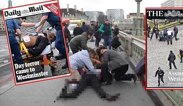 Τι γράφει ο βρετανικός Τύπος για την επίθεση