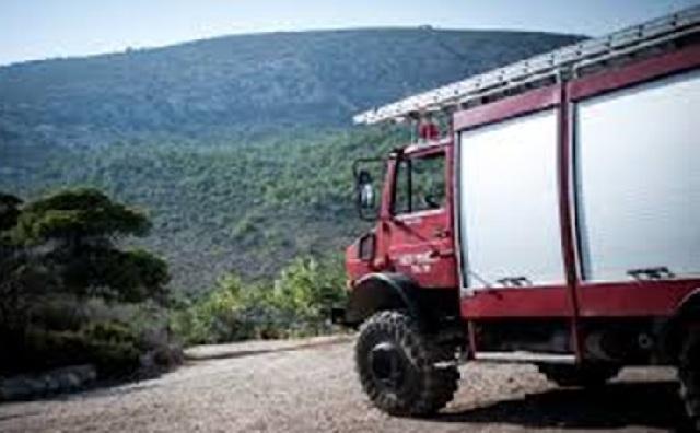 Κινητοποίηση της Πυροσβεστικής για φωτιά στον Κισσό