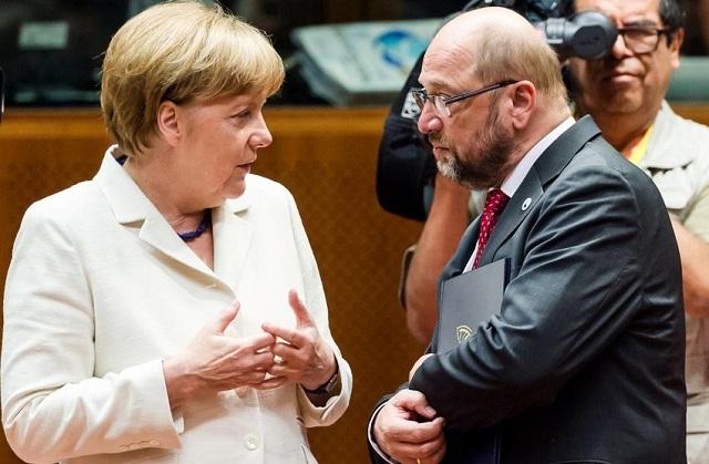 Οι Γερμανοί θέλουν τον Σουλτς για καγκελάριο και όχι τη Μέρκελ