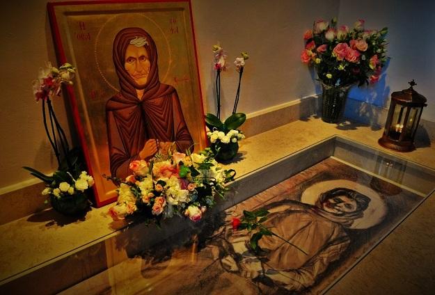 Ιερό Λείψανο της Οσίας Σοφίας της Κλεισούρας στην Ανάληψη