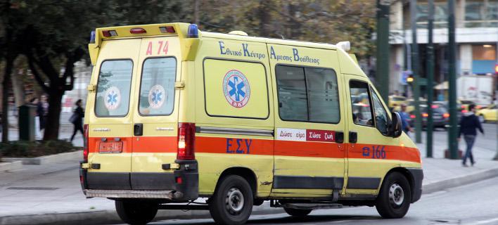 Τροχαίο με δυο τραυματίες στον Βόλο