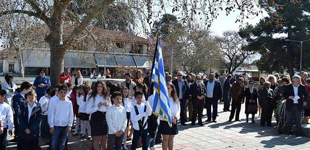 Τιμήθηκε η μνήμη των πεσόντων στο Ριζόμυλο