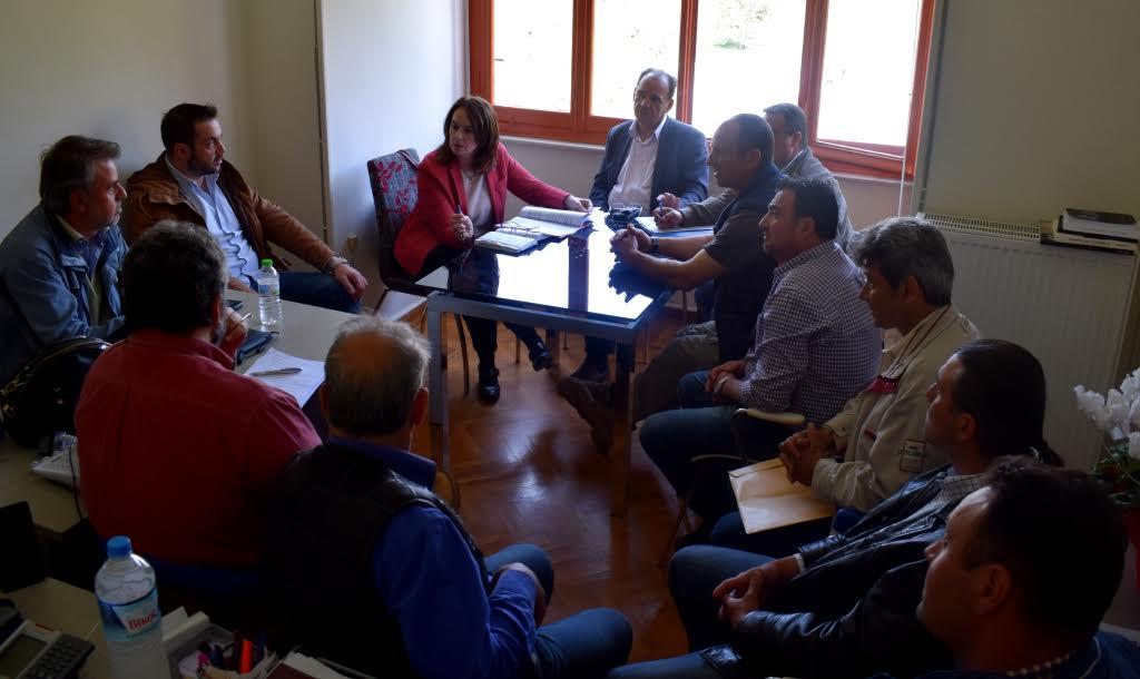 Συνάντηση με την Υφυπουργό Οικονομικών Κατ. Παπανάτσιου είχε ο δήμαρχος Ζαγοράς Μουρεσίου
