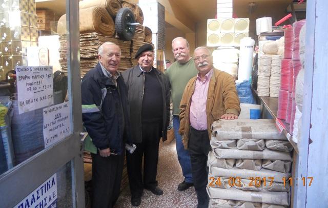 Οι συνταξιούχοι έμποροι τίμησαν ιστορική επιχείρηση του Βόλου