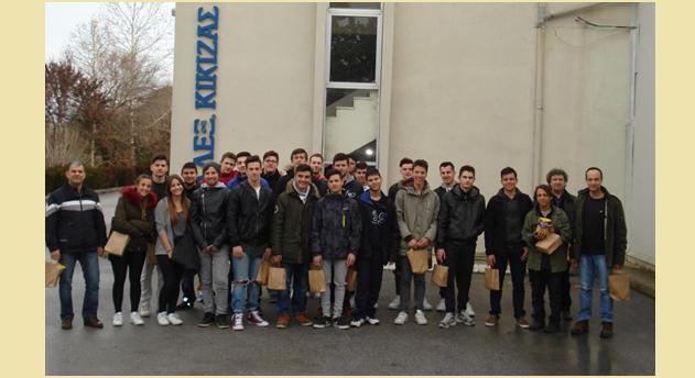 Εκπαιδευτική επίσκεψη μαθητών του 2ου ΕΠΑΛ Ν. Ιωνίας σε βιομηχανία