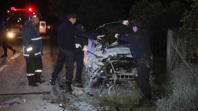 Τραγωδία στον Εύοσμο: Τέσσερις νέοι νεκροί σε τροχαίο με 17χρονο οδηγό