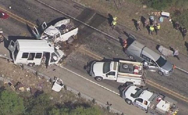 Τραγωδία στο Τέξας: 13 νεκροί από σύγκρουση λεωφορείου της εκκλησίας με φορτηγό