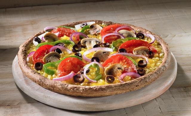 Νέα νηστίσιμη πίτσα Veggie Cheese με 100% φυτικό τυρί από την Pizza Fan