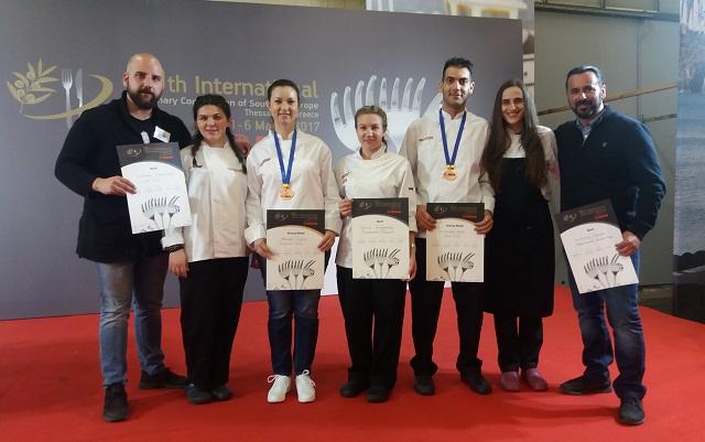 Σημαντικές διακρίσεις σπουδαστών της σχολής «Le Gourmet» στον Βόλο