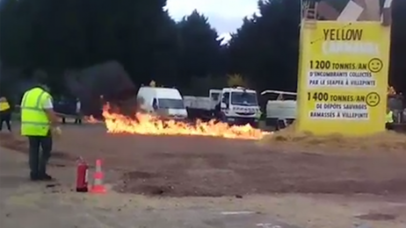 Δεκάδες τραυματίες από έκρηξη στη Γαλλία