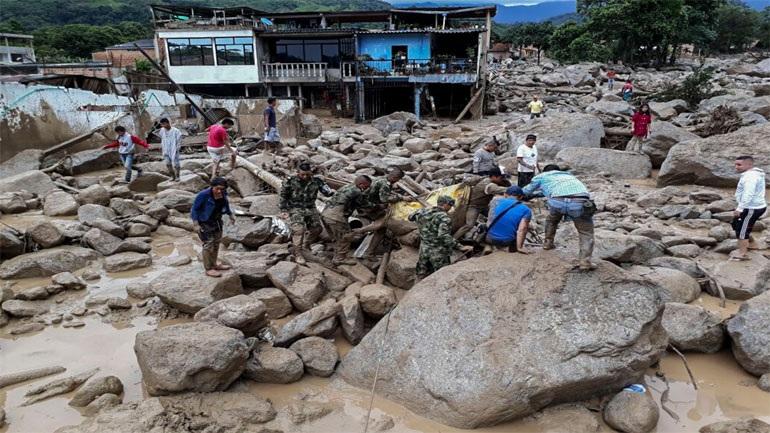 Αυξήθηκαν οι νεκροί στην Κολομβία- Βυθίστηκε στο πένθος η χώρα
