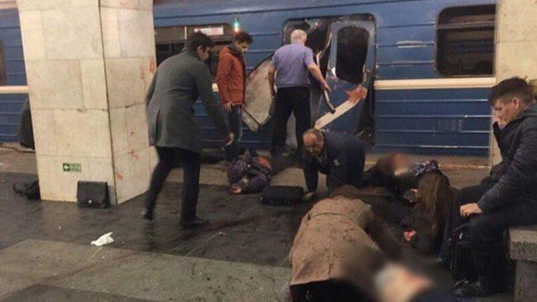 Στους 11 οι νεκροί από την επίθεση στο μετρό της Αγ. Πετρούπολης