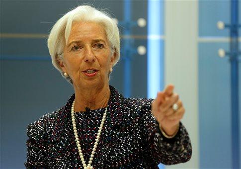 H Λαγκάρντ παραδέχεται ότι διαφωνεί με τον Σόιμπλε για το ελληνικό χρέος