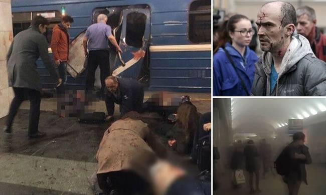Δύο υπόπτους αναζητούν οι Αρχές για την επίθεση στο ρωσικό μετρό