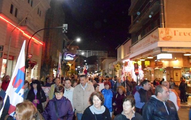 Συλλαλητήριο κατά των νέων μέτρων την Παρασκευή στο Βόλο