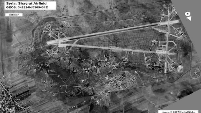 Επίθεση των ΗΠΑ με 59 πυραύλους κατά της Συρίας