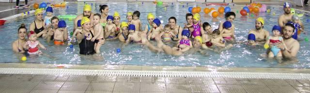 Διαγωνισμός βρεφικής κολύμβησης