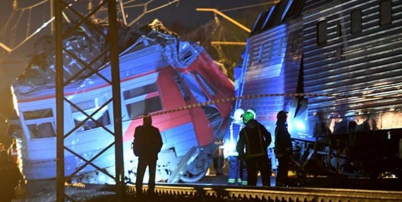 Σύγκρουση τρένων στη Μόσχα με 23 τραυματίες