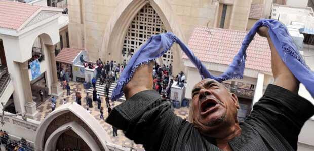 Αίγυπτος: Εκρήξεις σε δύο εκκλησίες -Πολλοί νεκροί και τραυματίες
