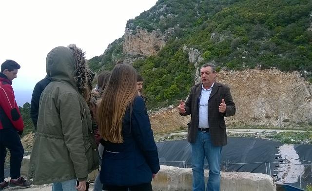Περιβαλλοντική επίσκεψη στον ΧΥΤΑ Αλοννήσου