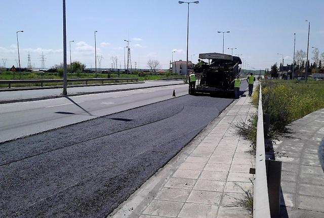Εργασίες συντήρησης στον οδικό άξονα Λάρισας –Καρδίτσας