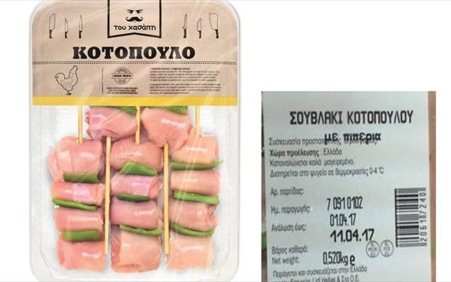Ανάκληση μη ασφαλούς τροφίμου με σαλμονέλα στα LIDL