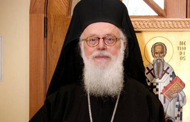 Επίτιμος δημότης Λάρισας ο αρχιεπίσκοπος Τιράνων, Δυρραχίου και πάσης Αλβανίας Αναστάσιος